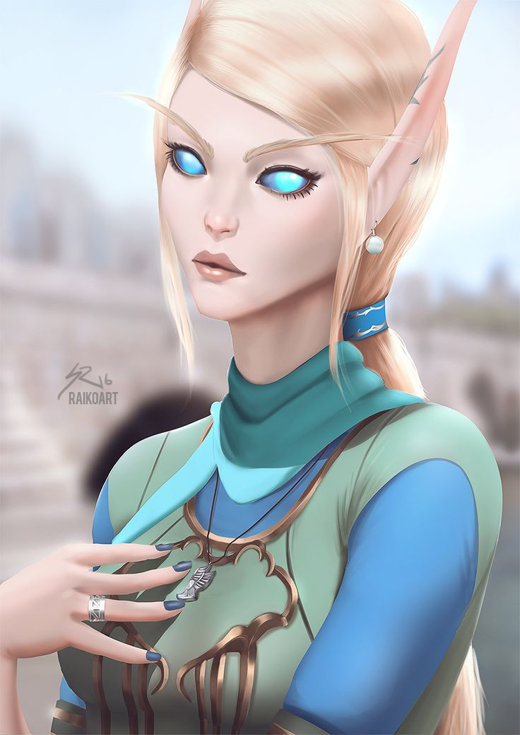 Portrait Commission of an High Elf