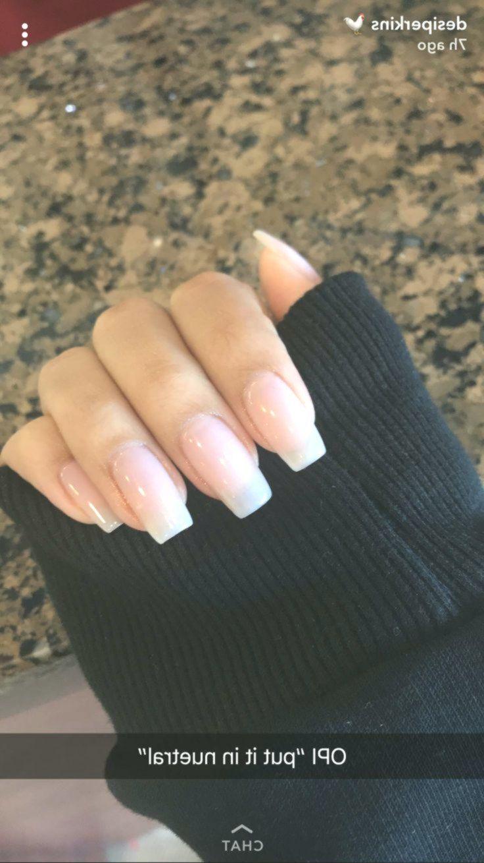 Desi Perkins Acrylicnailsalmond Longnails Longnailideas Longcoffinnails Ombre Acrylic Nails Long Nails Long Nail Designs