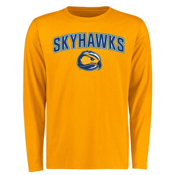 Fort Lewis College Skyhawks Proud Mascot Long Sleeve T-Shirt - Gold - - $27.99