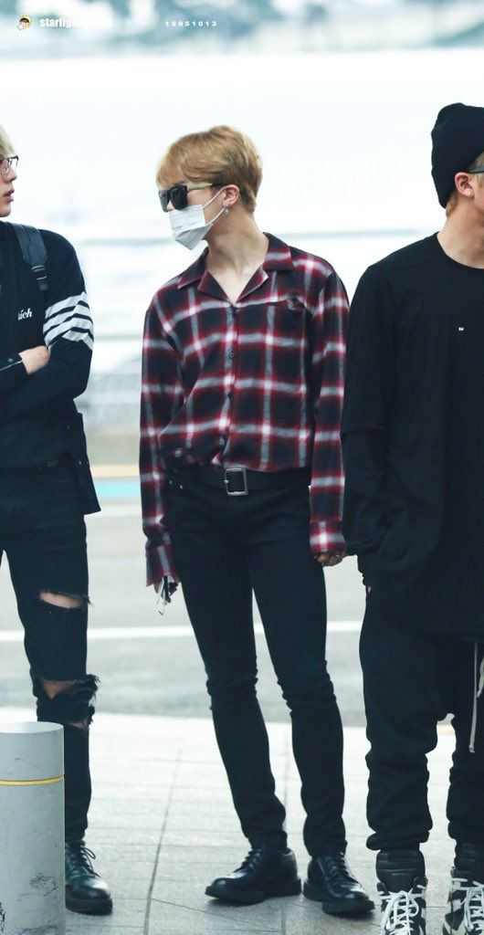 jimin always has the ultimate airport looks // korean mens fashion