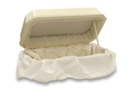 Deluxe Double-Wall Pet Casket - 3 Colors Available