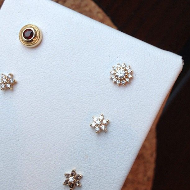 Bvla earrings and end pieces available through ClassyBodyArt