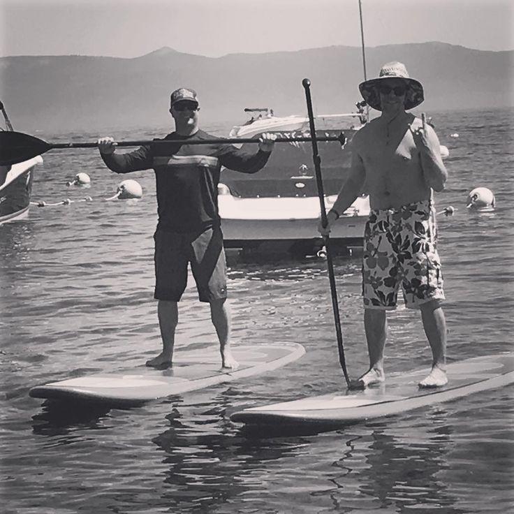 Good times in tahoe paddle boarding laketahoe