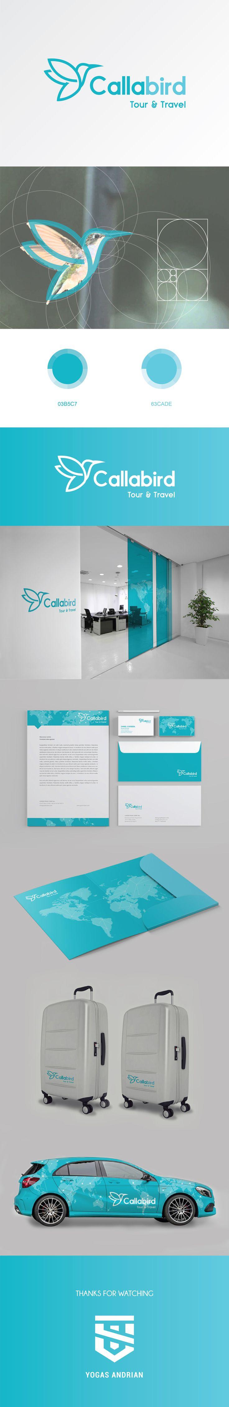 """Check out my @Behance project: """"Callabird Branding Identity"""" https://www.behance.net/gallery/58666729/Callabird-Branding-Identity"""