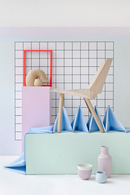 Pastels // 80s vibes in Interior Design