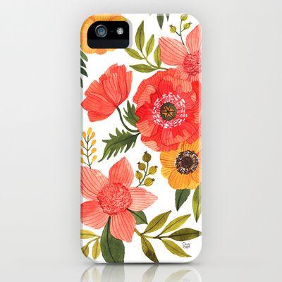 FLOWER POWER iPhone & iPod Case by oana befort - $35.00