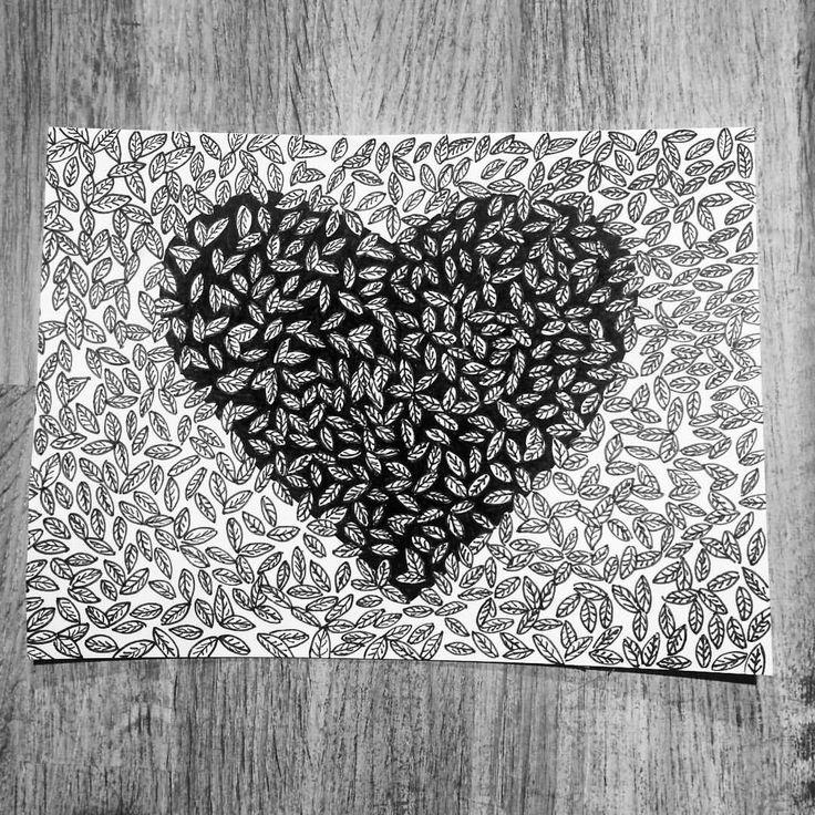 https://www.instagram.com/simonestubgaard/ late night doodling ✍✍ #art #drawing #doodle #penart #pendrawing #sunday #artsy #cardmaking #artist #simonestubgaard