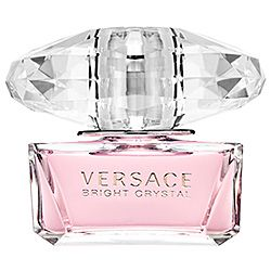 Inspired by a mixture of Donatella Versace's favorite floral fragrances, Bright Crystal is a fresh, sensual blend of refreshing chilled yuzu and pomegranate mingled with soothing blossoms of peony, magnolia, and lotus flower, warmed with notes of mus