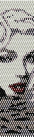 bead loom pattern- marilyn monroe