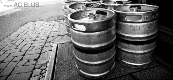 Ireland Guinness Kegs
