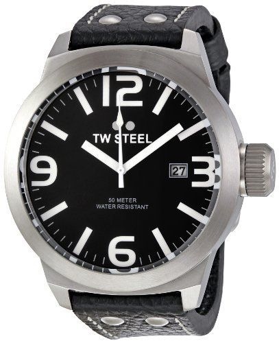 TW Steel Men's TW623 Icon Black dial Watch TW Steel. $182.90. Case diameter: 50 mm. Metal case. Durable mineral crystal protects watch from scratches. Water-resistant to 330 feet (100 M). Quartz movement. Save 38% Off!