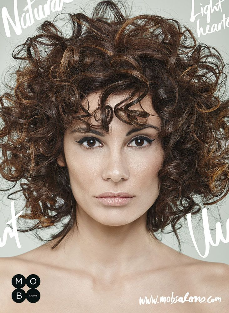 Etheral SS15 Collection by Mob Salons #brown #undone #curly #antiglamour #hairstyle