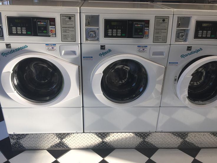 New laundromat in nearby town named it's units instead of numbering them