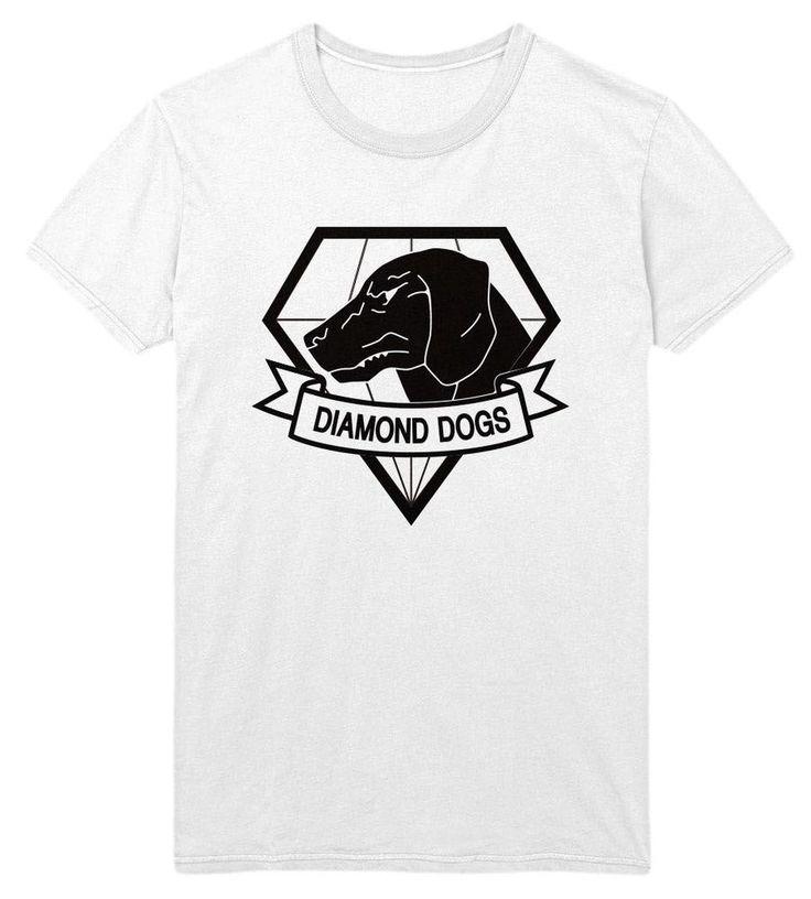 Original Metal Gear Solid The Phantom Pain Diamond Dogs T-Shirt (Size: L)…