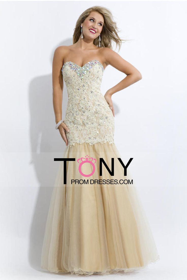 Hot Sales 2014 Lovely Prom Dresses Mermaid/Trumpet Sweetheart Floor Length