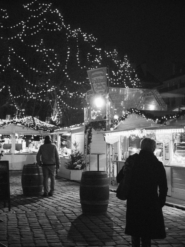 Marché de noel, Rouen.