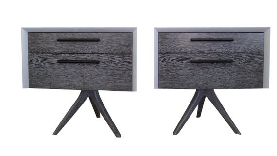 Bleached Wenge Side Table