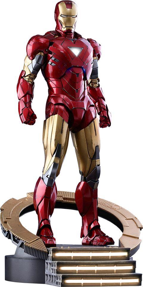BLOG DOS BRINQUEDOS: Iron Man Mark VI Marvel Sixth Scale Figure