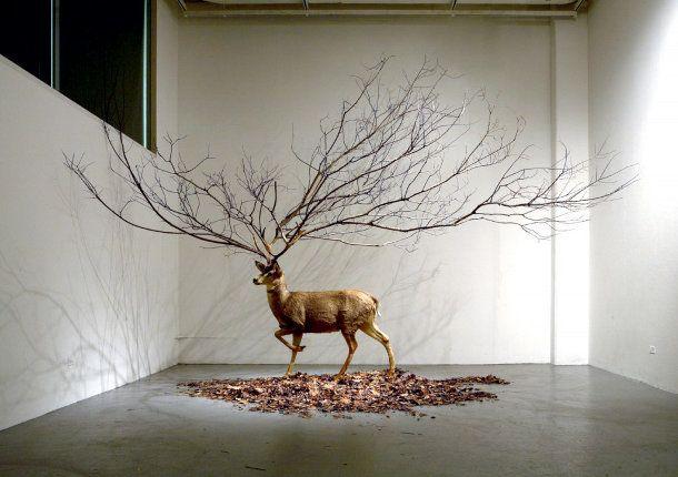 Surrealistische Koreaanse kunst