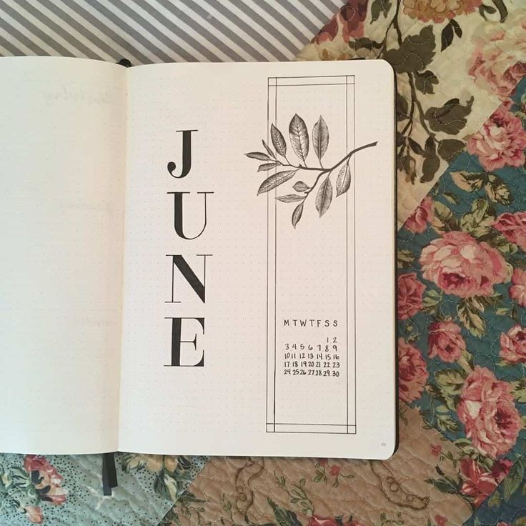 50+ incredible June monthly spreads for your Bullet Journal?