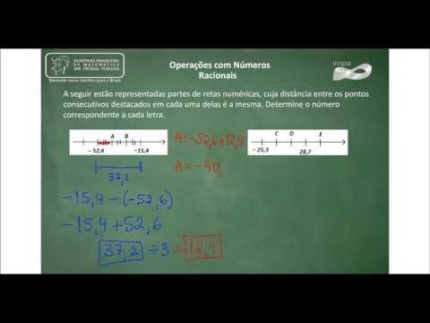 24-07-Números Racionais e Exercícios - 01 Acesse mais videoaulas e todo o material do Portal da Matemática em http://matematica.obmep.org.br