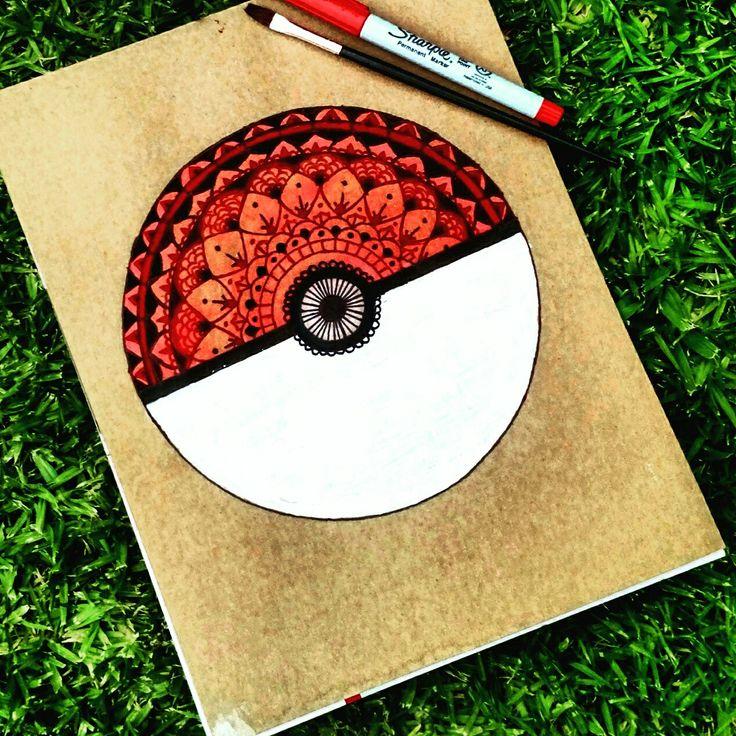 #Pokémon #Zen #Mándala #Pokébola