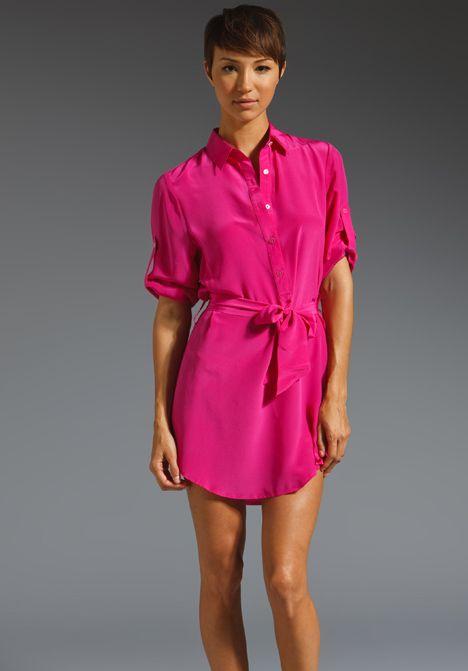 THAYER Shirt Dress // major major want!  Mini  Pinterest  Hot ...