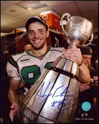 Andy Fantuz former receiver for the Saskatchewan Roughriders