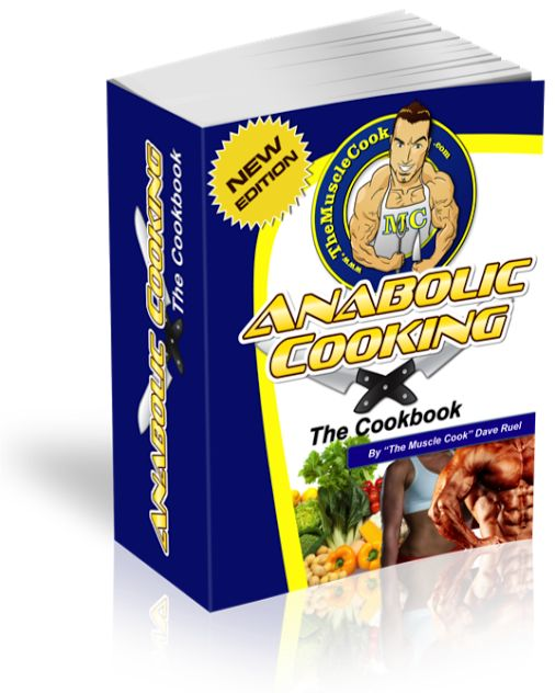Anabolic Cooking - the Complete Nutrition Guide for Fitness & Bodybuilding! Click the image and you will find the link on the next page.
