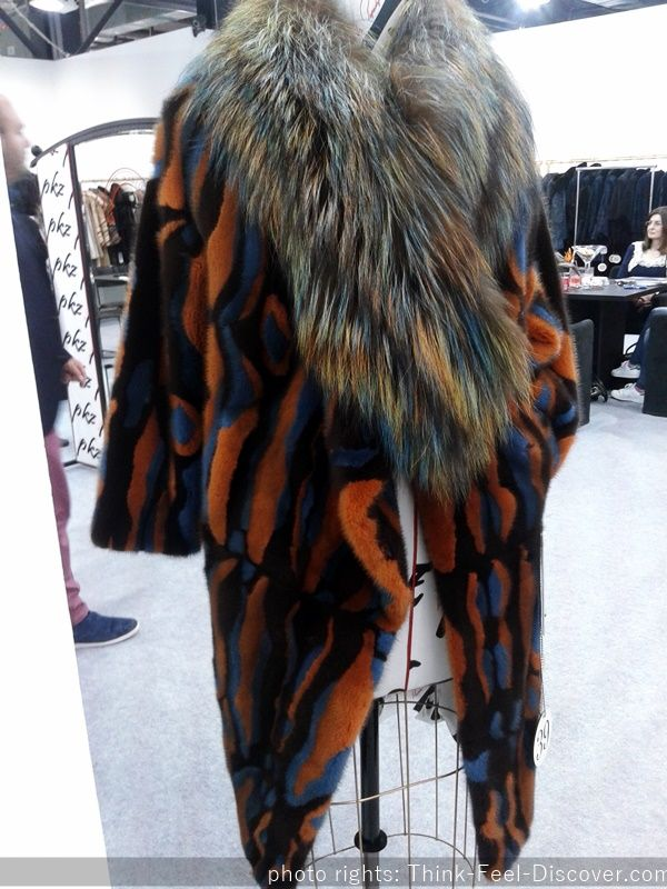 PKZ Furs Kastoria International Fur Fair AW16/17 BACKSTAGE Fashion by Think-feel-Discover.com.