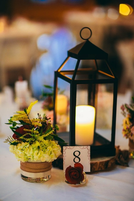Lantern Centerpieces Rustic Centerpieces Wedding