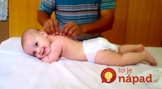 Video: Jednoduchý trik zbaví bábätko koliky, pomôže mu zaspať a…