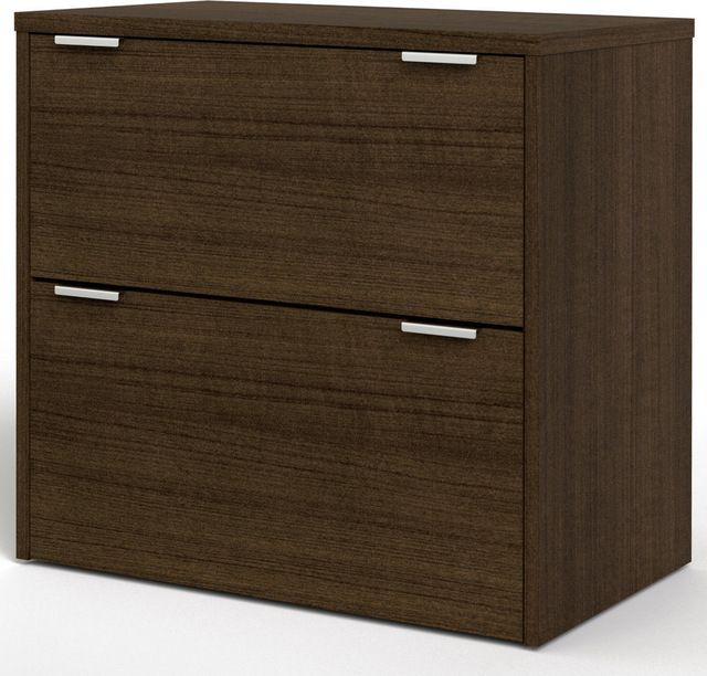 Contempo Lateral File in Tuxedo contemporary filing cabinets and carts