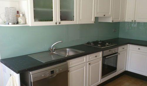 Acrylic Perspex Plastic Kitchen Splashback Light Grey
