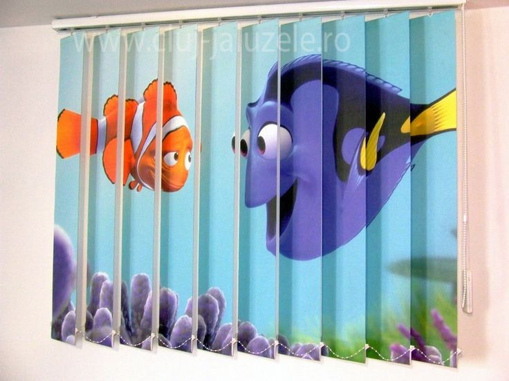 Galerie Jaluzele Personalizate Cluj | Lexundros  Jaluzea personalizata Finding Nemo