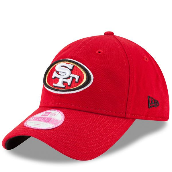 San Francisco 49ers New Era Women's Preferred Pick 9TWENTY Adjustable Hat - Scarlet - $19.99