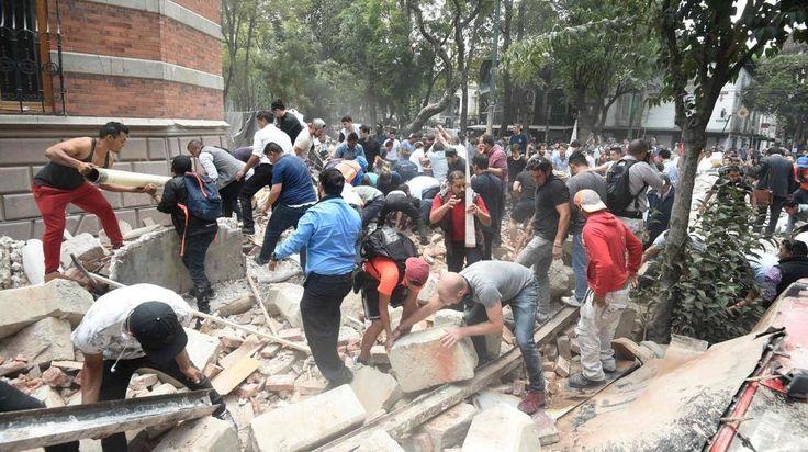 El terremoto en México: Van más de 225 muertos http://www.hoyesnoticiaenlaguajira.com/2017/09/el-terremoto-en-mexico-van-mas-de-225.html