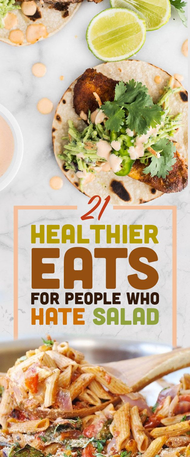 """Because you can't spell """"salad"""" without """"sad."""""""