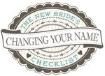 Download and print the following name-change checklist to get an overview of where you should consider changing your name.
