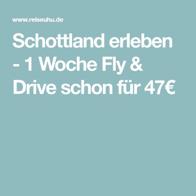 Schottland erleben - 1 Woche Fly & Drive schon für 47€