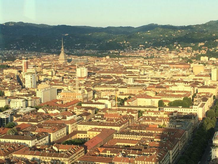 Torino dal grattacielo San Paolo