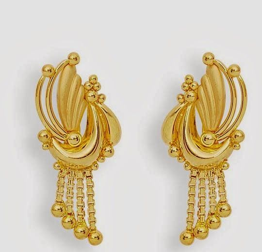 fancy earrings l woman wholesale earring earing plated gold small or