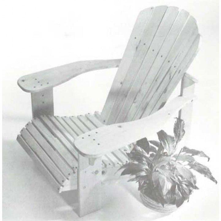 Adirondack Chair Plan zum Herunterladen