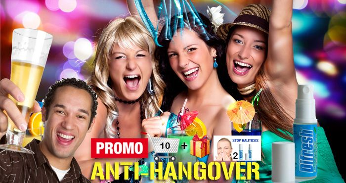 Anti-Hangover Mouth Spray