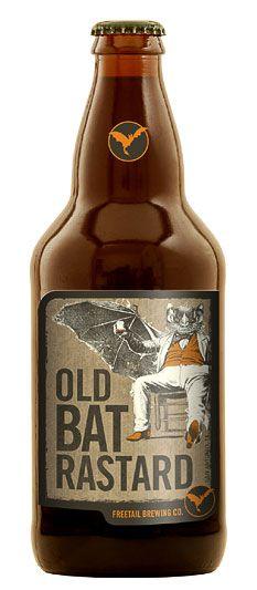 Freetail Old Bat Rastard.  Very funny IMPDO.   repinned by an #advertising agency from #Hamburg / #Germany - www.BlickeDeeler.de   Follow us on www.facebook.com/BlickeDeeler