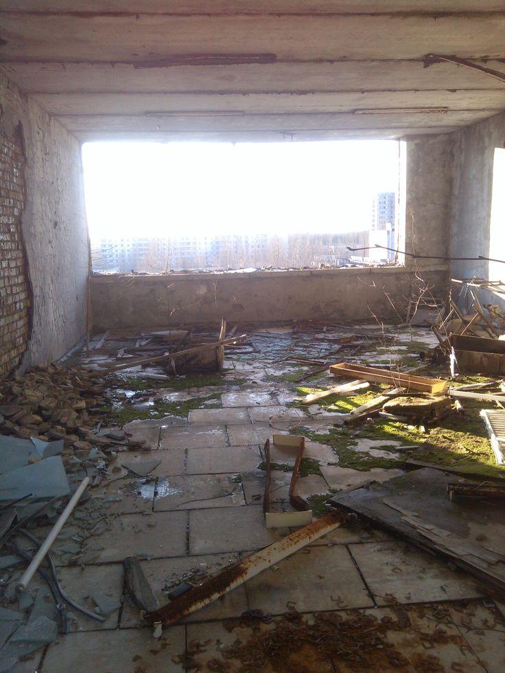 "The ""Polissya"" hotel observation deck"