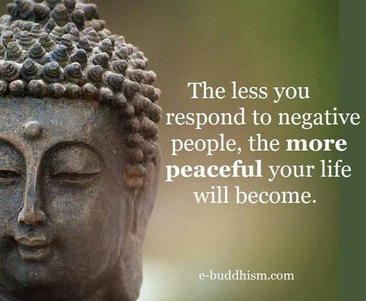 The less you respond