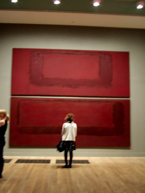 The Rothko Room at The Tate Modern