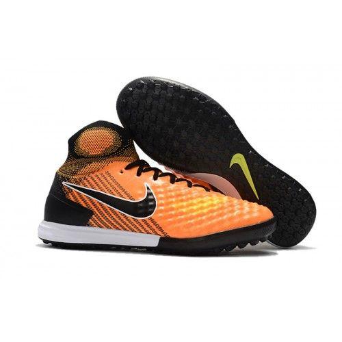 6e24957593abd Los Nuevos Botas Futbol Nike MagistaX Proximo II TF Naranjas