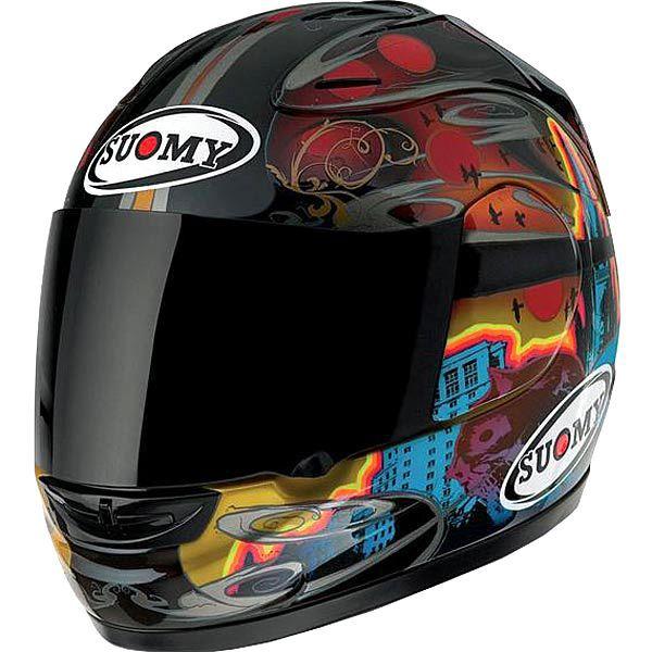 suomy helmets | Suomy Spec 1R Dark City Helmet - Street Motorcycle - Motorcycle ...